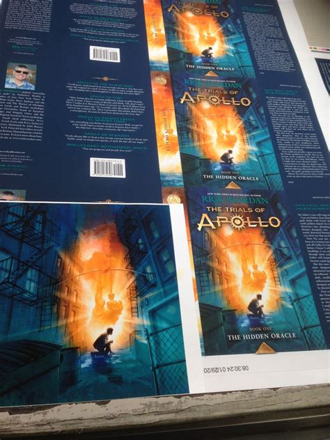 The Trial Of Apollo 1 The Oracle Rick Riordan rick riordan s apollo at the printing press january 30 2016 06 26