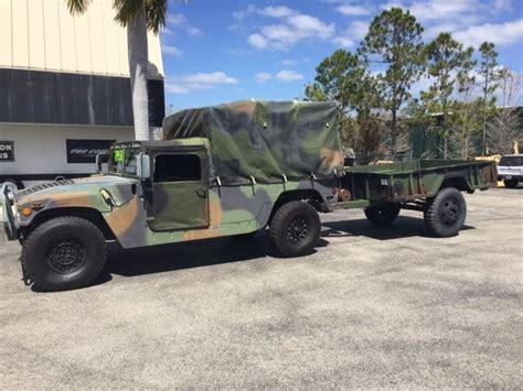 Mr8st H M 43000 hmmwv m998 hummer h1 1992 6 5l 43000 cargo utility us army for sale hummer