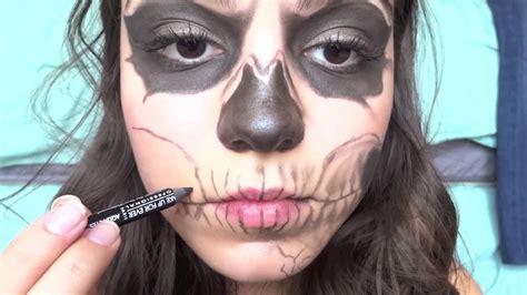 eyeliner tutorial boy zombie boy skeleton makeup tutorial youtube