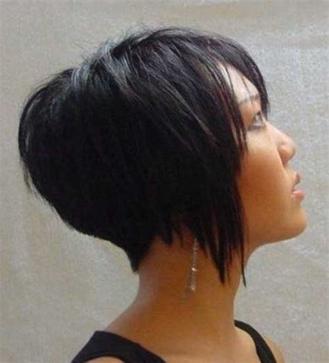 would an inverted bob haircut work for with thin hair very short haircuts back view long hairstyles