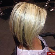 darker hair on top lighter on bottom is called 1000 ideas about medium angled bobs on pinterest bob