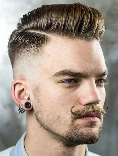 comb over taper fade style top 30 taper fade mens haircut styles