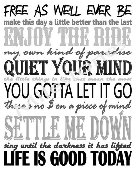 lyrics zac brown band zac brown band lyrics inspired subway printable