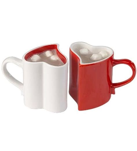 Heart Shaped Mug | heart shaped mug cool products pinterest