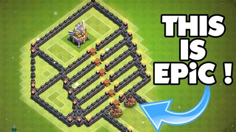 clash of clans boat best base clash of clans insane troll base quot the stairway to heaven