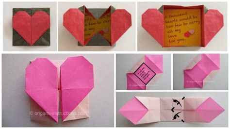 How To Make A Secret Message On Paper - origami simple craft ideas