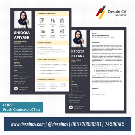 templates cv kreatif curriculum vitae template word indonesia images