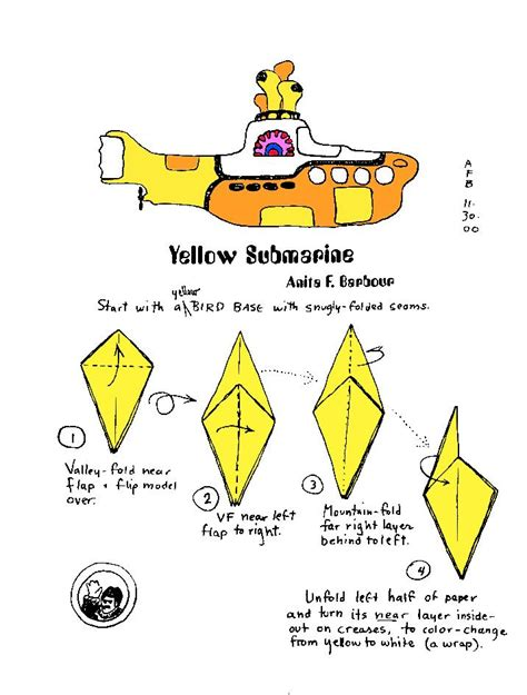 How To Make A Paper Submarine - submarine building crafts for children