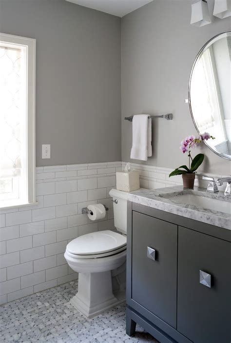 dc metro half bath designs with rectangular wall and floor