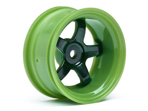 Rc 2pcs Ban Velg Tire With Wheel Set Sand Type For 1 8 1 10 1 12 Hex17 hpi 111100 work meister s1 wheel green 26mm 9mm offset 2pcs l 248 ten rc shop as