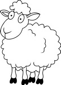 dibujos ovejas colorear pintar