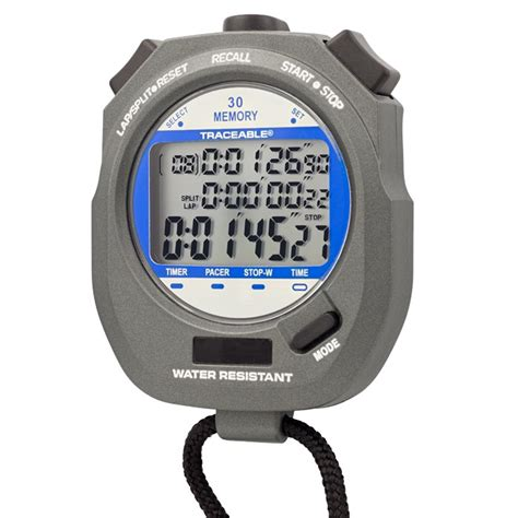 el cronometro b1 edicion dual display traceable digital stopwatch