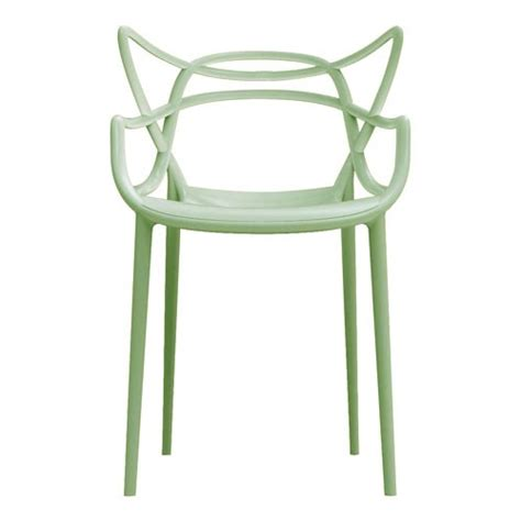 Chaise Master by Chaise Masters Vert Sauge De Kartell