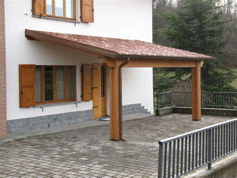 tettoie in muratura portici gazebo porticati in legno lamellare e massello