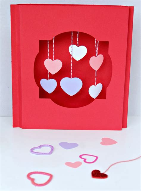 how to make valentines card how to make 3d s cards
