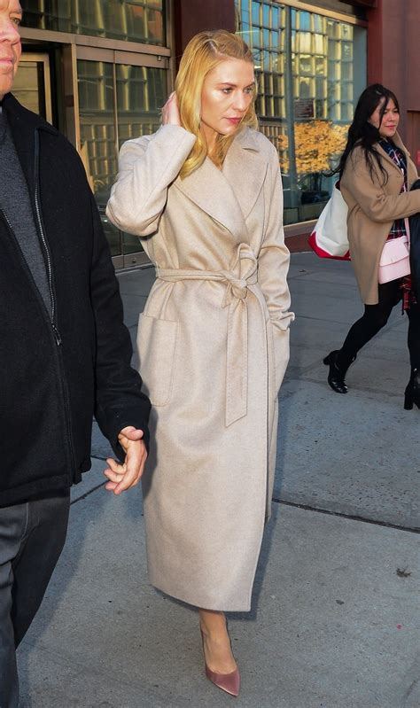 claire danes show claire danes coming out of cbs morning show in nyc 02 05