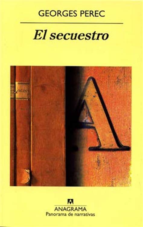 libro la disparition libro el secuestro resumen y rese 241 as