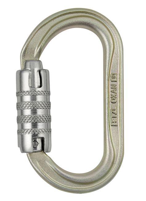 Petzl Steel Carabiner Oxan Lock 2017 oxan high strength oval carabiner petzl monarch rope
