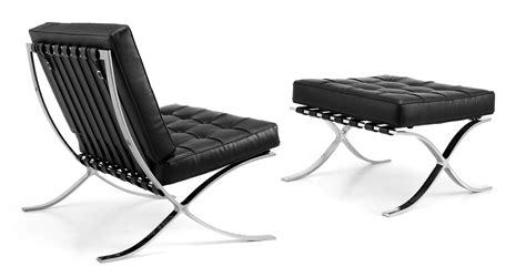 Iconic Chairs Of 20th Century barcelona chair polkadot