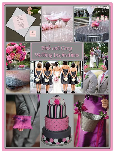 Pink And Grey Wedding Decorations grey and pink wedding theme inspiration board storkie