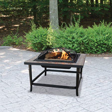 blue rhino uniflame endless summer ceramic tile outdoor