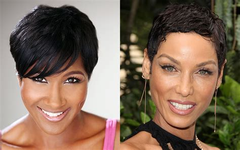 black women getting short haircuts in at a barbershop best 34 pixie short haircuts for black women 2018 2019