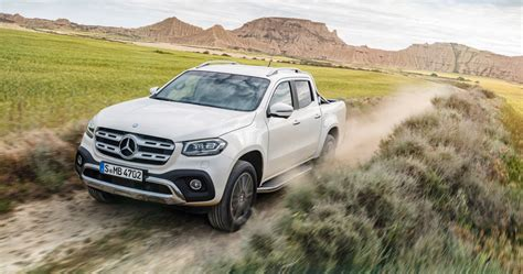 mercedes pickup 2018 mercedes benz x class revealed but it s not coming