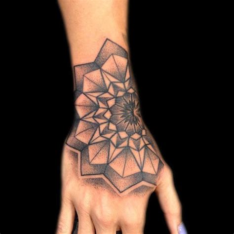 tattoo mandala hand left hand mandala tattoo