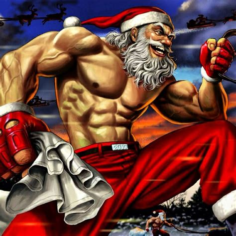 santa claus muscle sexiest santa santa christmas challenge