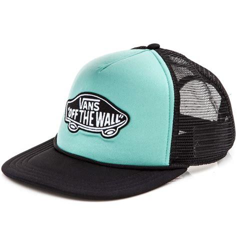 Vans Trucker Hat vans classic patch trucker hat canton black