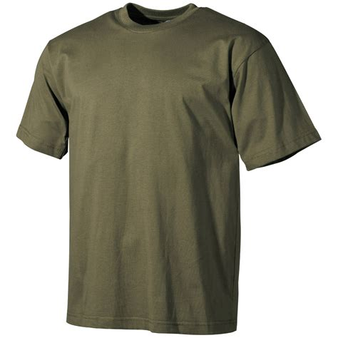 Combat Shirt Green Olive army cadet mens green combat t shirt cotton
