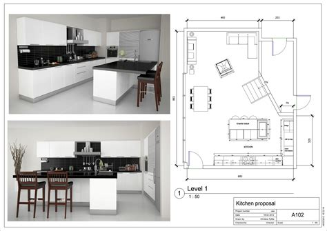 kitchen floor plan layouts designs for home