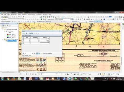 tutorial georeferencing arcgis creating a shapefile in arcgis 10 2 2 doovi
