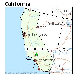 best places to live in tehachapi california
