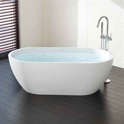 model bathtub 63 quot freestanding tub model bw 02 l stone resin badeloft usa