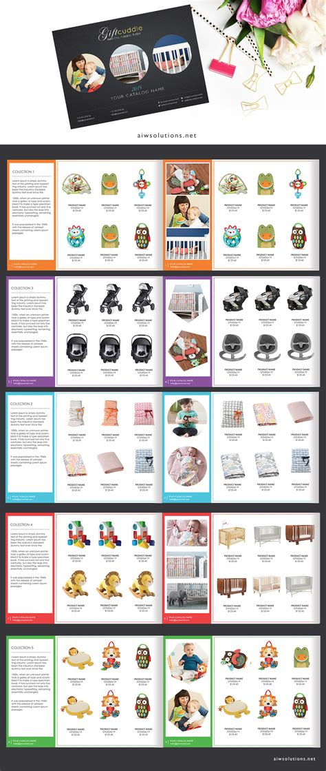 Wholesale Catalog Template Product Catalog Indesign Catalogue Custom Product Catalogue Indesign Catalog Templates