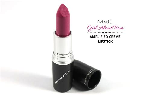 girl about town lipstick mac girl about town lipstick review ang savvy