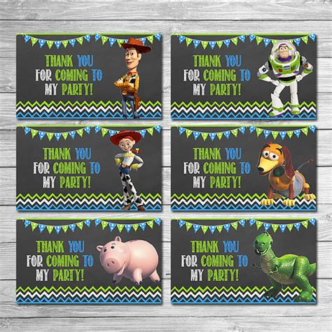 printable toy story christmas gift tags toy story party tags chalkboard green blue toy story