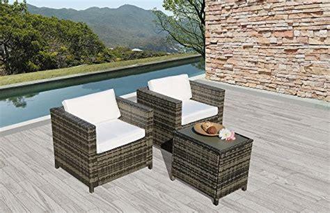 patioroma outdoor furniture  weather grey wicker