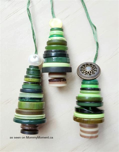 button ornaments button tree ornaments moment