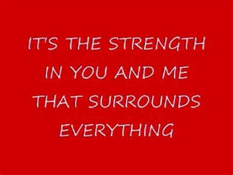 The Place Lyrics In Flames Thousand Foot Krutch The In All Of Us Lyrics