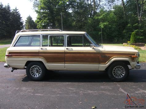 1985 Jeep Wagoneer 1985 Jeep Grand Wagoneer Limited Sport Utility 4 Door 5 9l
