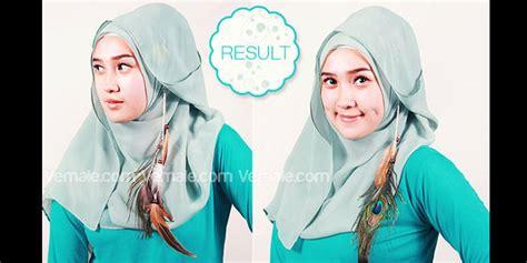 tutorial hijab paris nuri maulida cara berhijab isagitarius