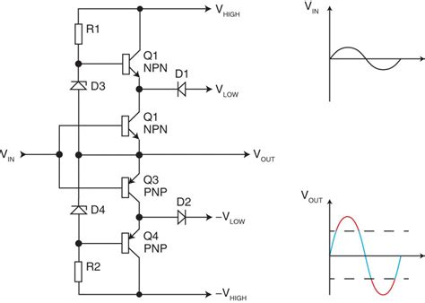 class h power lifier circuit diagram circuit and