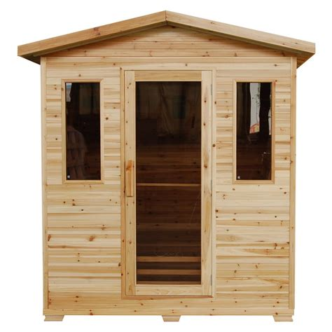 infrared saunas tubs home saunas the home depot
