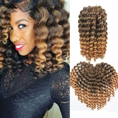 jamaican bounce braid hair crochet 10inch wand curly crochet braids hair jamaican bounce