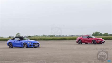 2020 Toyota Supra Quarter Mile by Shocker 2020 Toyota Supra Vs 2020 Bmw Z4 Which Is