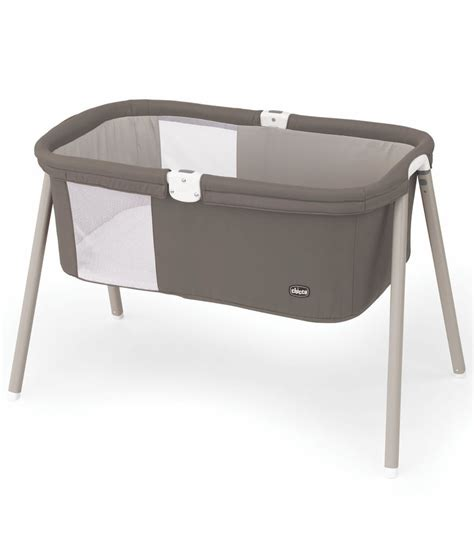 Travel Baby Cribs Chicco Lullago Travel Crib Chestnut