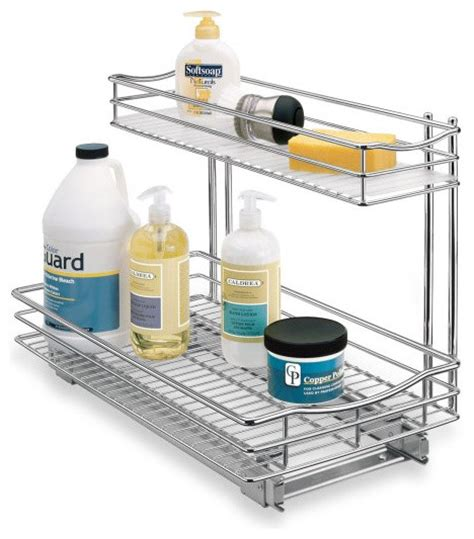 Kitchen Sink Shelf Organizer Roll Out Sink Drawer Eclectic Pantry And Cabinet Organizers By Bed Bath Beyond