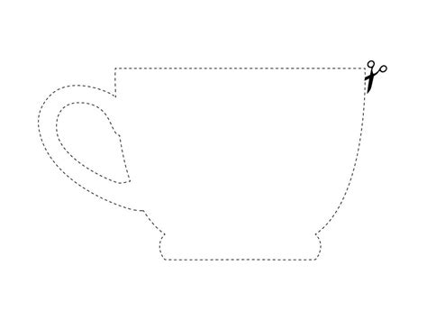 teacup template image gallery teacup templates